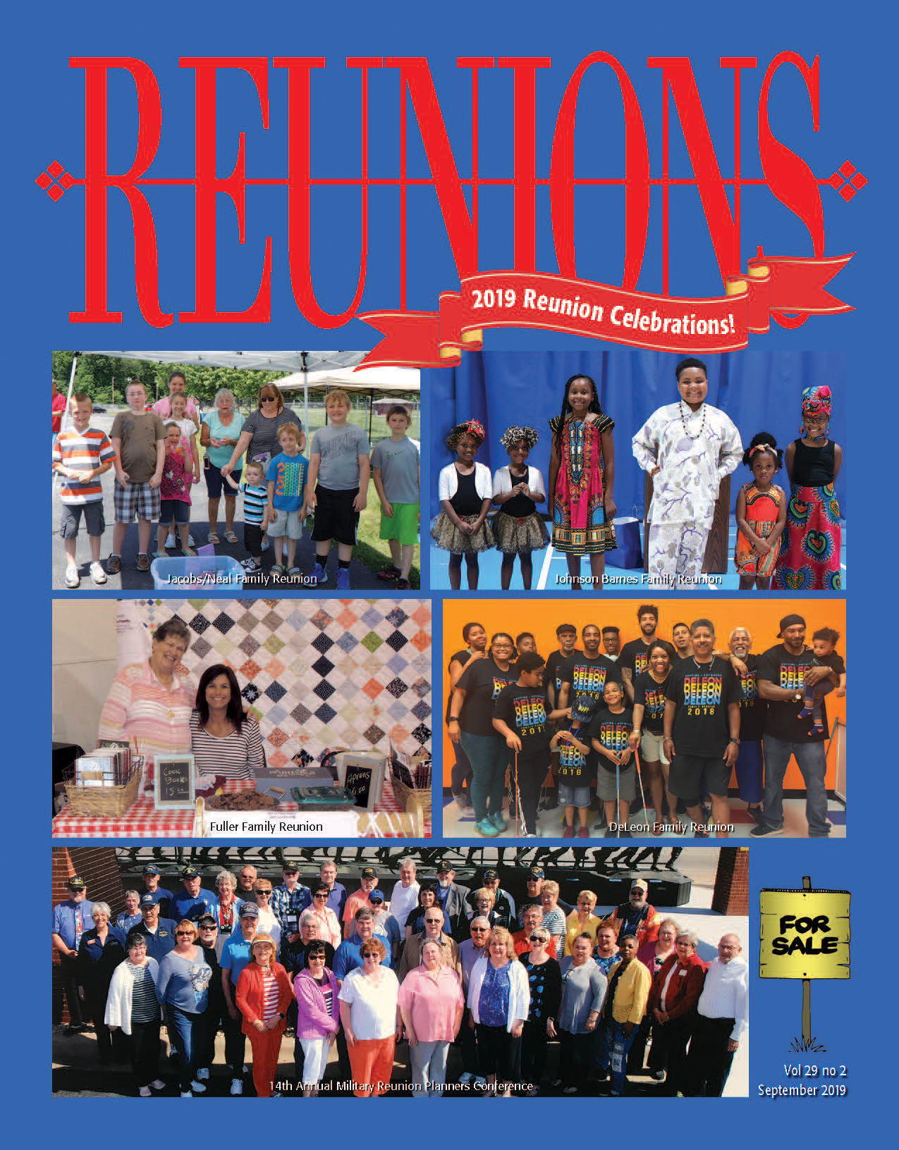 Reunions March 19 cover