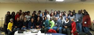 Fredericksburg, Virginia March 2015 workshop attendees