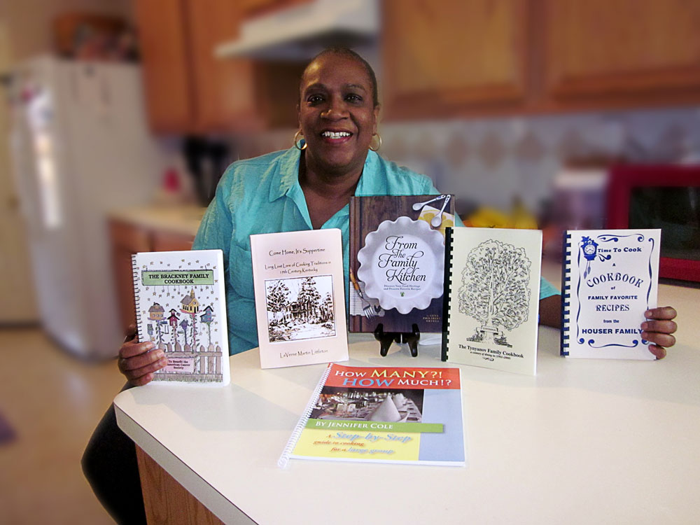 Hattie George, Cedar Hill, Texas, of the Cooper-Bledsoe Family Reunion won our Cookbook Giveaway. Three of the six books were from other family reunions and Hattie reported that her family is doing a cookbook for their summer reunion! Congratulations, Hattie!