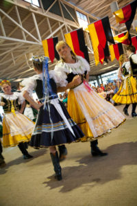 Oktoberfest, one of Fredericksburg's favorite festivals. Photo by Steve Rawls. Click to enlarge.