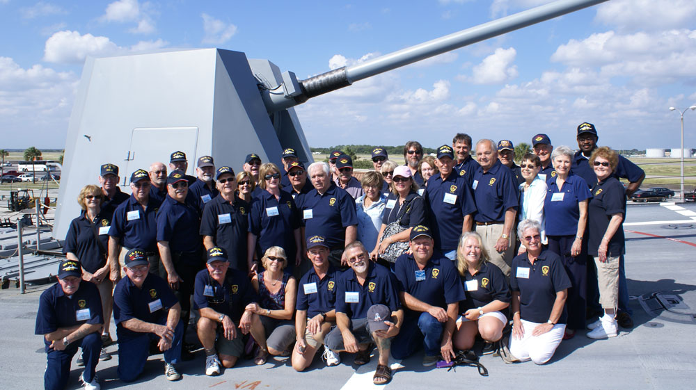 USS Sellers Reunion 2012, Jacksonville, Florida. Click to enlarge.