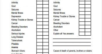 Sample-Medical-History-Form