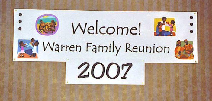 Warren-sign