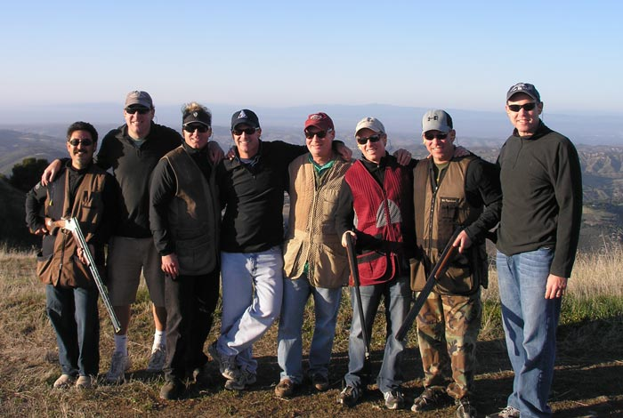 Skeet shooting is Young Presidents Organization (YPO) reunion.