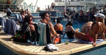 February 1st aboard the Norwegian Cruise Line's Getaway!