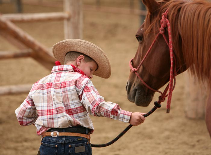 t doesn't take long for it to be just a boy and his horse at Paradise Ranch!