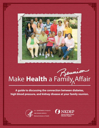 Kidney Connection Guide cover. Click to enlarg