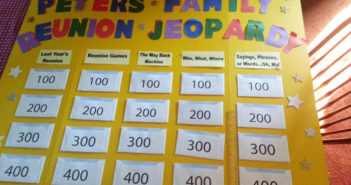 Peters 2014 Family Reunion Jeopardy board