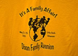 Dixon Family Reunion