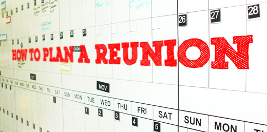 How to plan a reunion