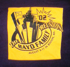 Mayo t-shirt 2002