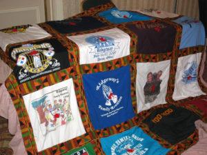 Ridgeway t-shirt quilt