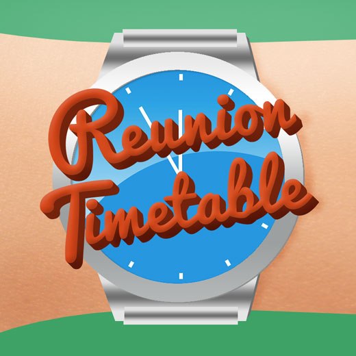 Reunion Timetable Reunions Magazine