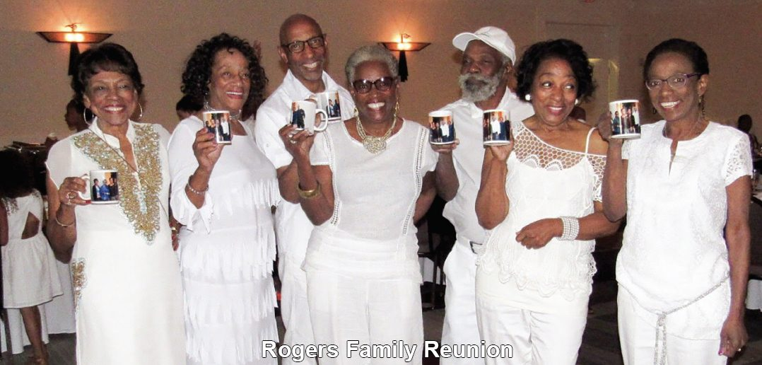 """The Rogers Family Reunion had a fabulous reunion at Hotel Chaco in Albuquerque, New Mexico with 104 in attendance. Activities included re-connecting, games, bowling, swimming, an All-White Dinner Dance and many other activities. Jacqueline Miller, Weddington, North Carolina, reports that they feel """"family is everything!""""The Rogers Family Reunion had a fabulous reunion at Hotel Chaco in Albuquerque, New Mexico with 104 in attendance. Activities included re-connecting, games, bowling, swimming, an All-White Dinner Dance and many other activities. Jacqueline Miller, Weddington, North Carolina, reports that they feel """"family is everything!"""""""