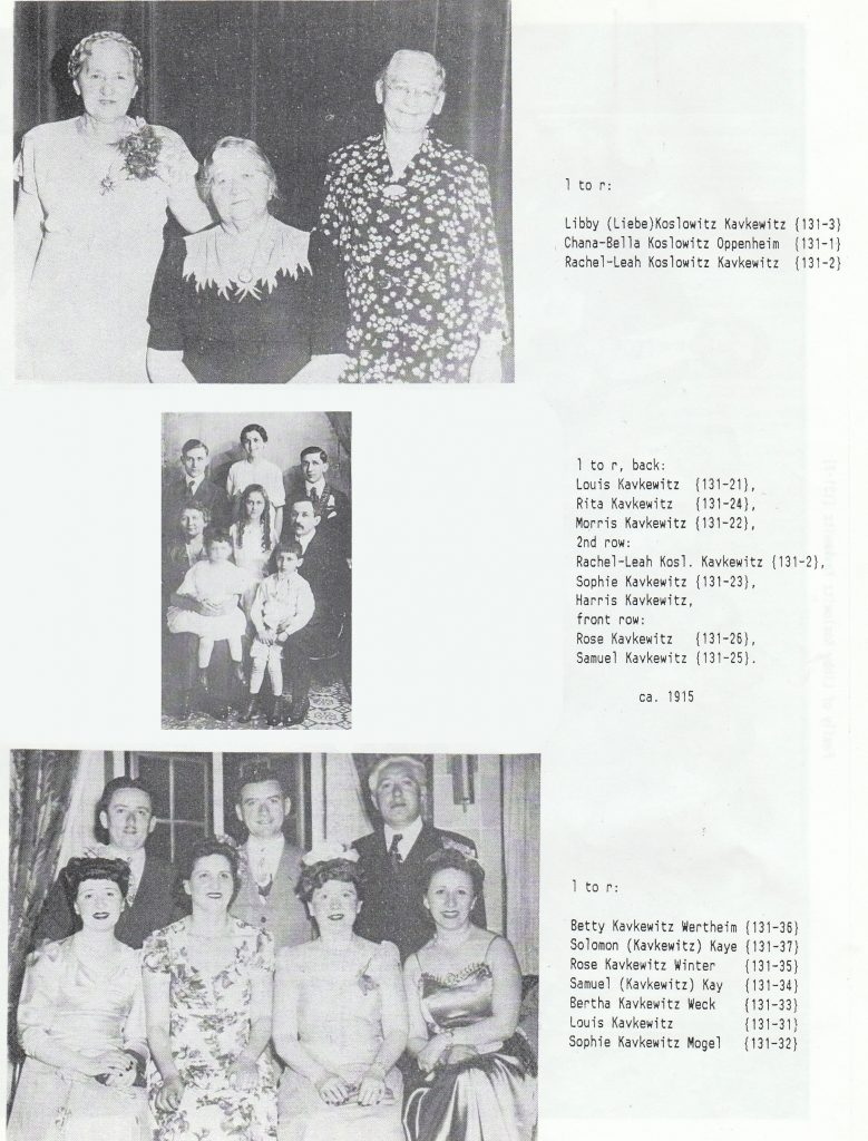 The organizer of the reunion weekend in 1989 put together a booklet all about the individual families that made up the larger group. These photos from the booklet show my maternal grandmother's family.