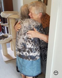 Decades after they were separated by war, two sisters were reunited by the Red Cross' Restoring Family Links program.
