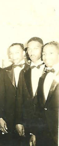 Barry's father, James Squeaky Miller (middle).