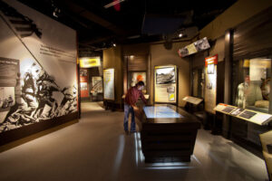 The National Museum of the Pacific War. Photo by Marc Bennett. Click to enlarge.