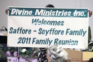 Saffore-Scyffore Family Reunion