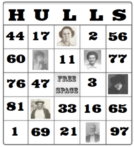 View all of the Hulls Bingo cards (PDF format)