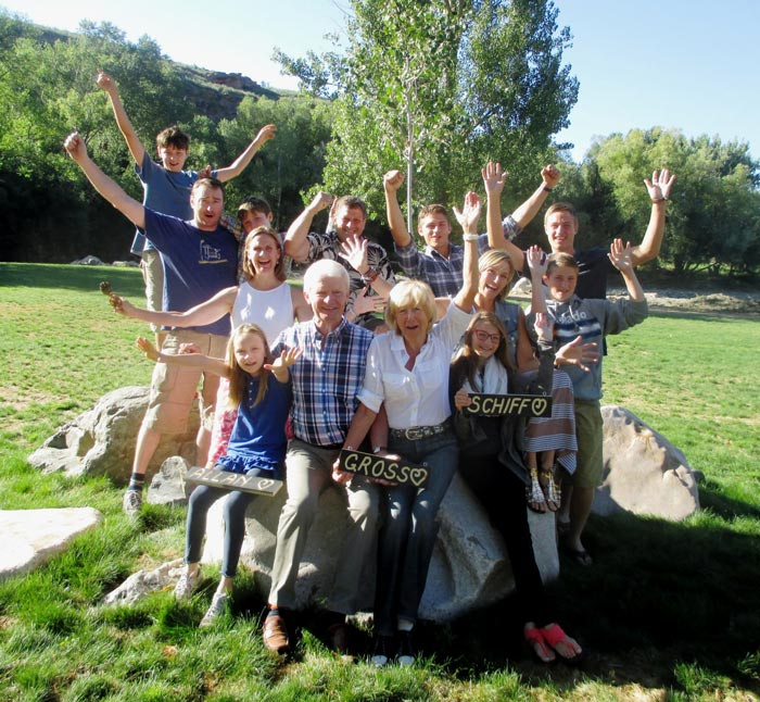 The Gross Family Reunion at Sylvan Dale Guest Ranch.