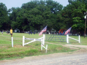 Site of the Smith Family Reunion picnic in Garland, Louisiana.