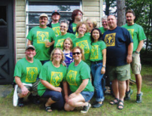 The Hatton/Quinn Family reunion in Eagle River, Wisconsin