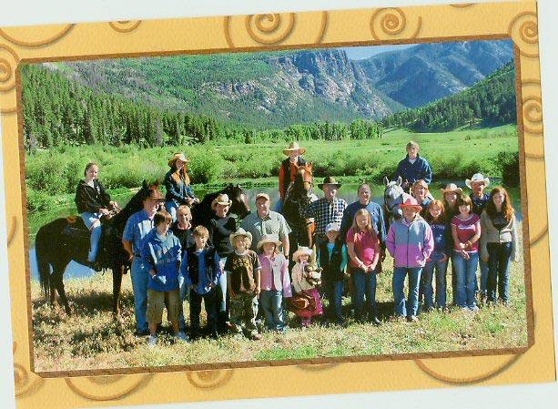 Wilderness Trails Galliher Family Reunion.